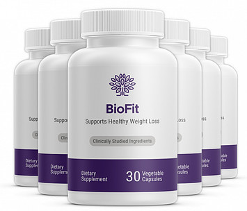 BioFit probiotic supplement bottles