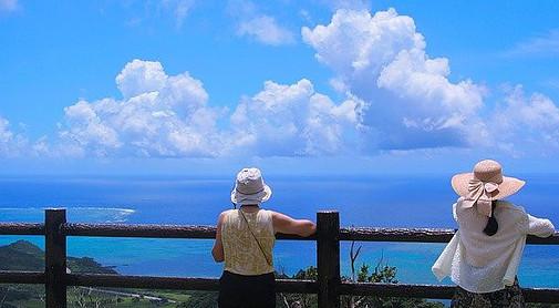 viewpoint in Okinawa Island