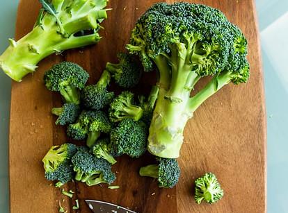 broccoli rich in quercetin pigment