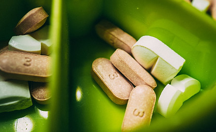 dietary supplements in capsules